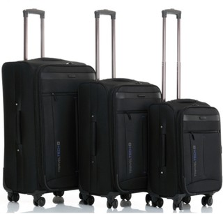 Set Valijas Rigidas X3 Travel Tech Premium 4 Ruedas Art 25090