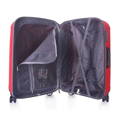 SET DE VALIJAS TRAVEL TECH IRROMPIBLE ROJ0. 25194 - HappyBuy
