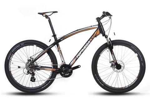 BICICLETA MOUNTAIN MEGA 26 SUSPENSION ENVOY 2.0 NARANJA. 323574