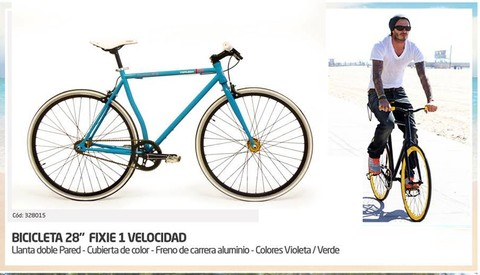 Bicicleta Fixie Fixed Explorer Urbana Rodado 28 Pared 328015 - comprar online