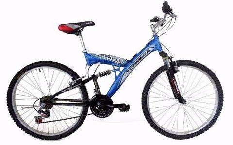 Bicicleta Doble Suspension Mountain Rodado 20 Cambios Envios