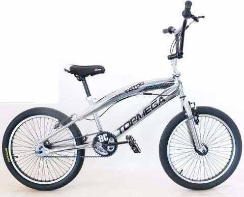 Bicicleta Freestyle Tatoo Cromada Bmx Rod 20. 321530