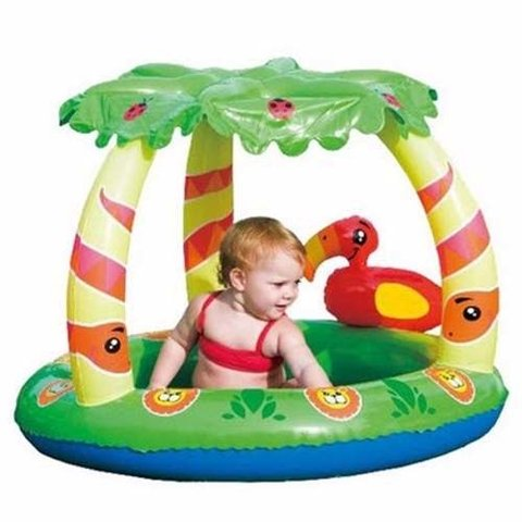 Pileta Inflable Pelotero Bestway Selva Piso Inflable Techo