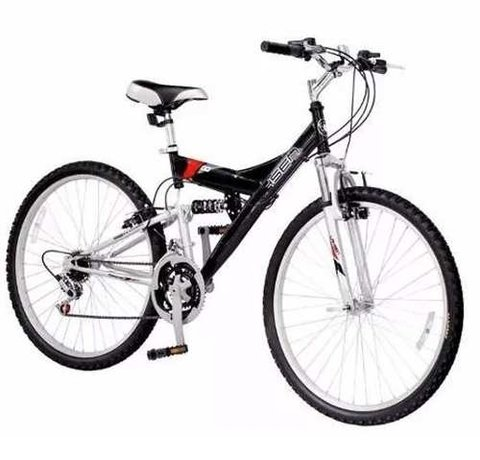 Bicicleta Rodado 20 Doble Suspension Mountain 12 Vel Cambios