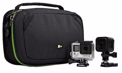 Bolso Case Logic Go Pro Para Camaras Accion Ideal Kac 101 *