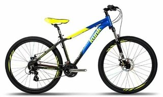 Bicicleta Mountain Bike 27 Aluminio Kunk 1.0 Suspension Gtia