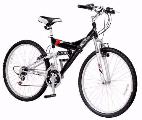 Bicicleta Mountain Bike Rod 26 Doble Suspension. 3007