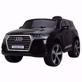 AUTO A BATERIA 12V  AUDI  Q7 LUCES LED Y MP3. JJ2188