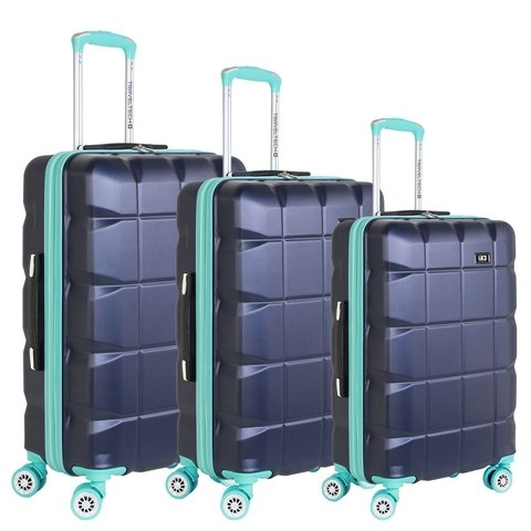 Set Valijas X3 Travel Tech Rigidas 4 Ruedas 360°   25624
