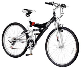 Bicicleta Mountain Bike 26 Doble Suspension 18 Vel
