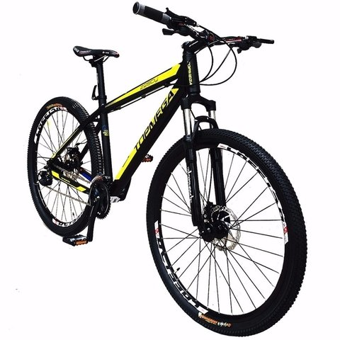 Bicicleta Mountain Bike 27.5 Aluminio Zesty Shimano Top Mega