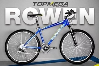 Bicicleta Rowen Top Mega Rod 26 Mountain Bike 21v   1004714