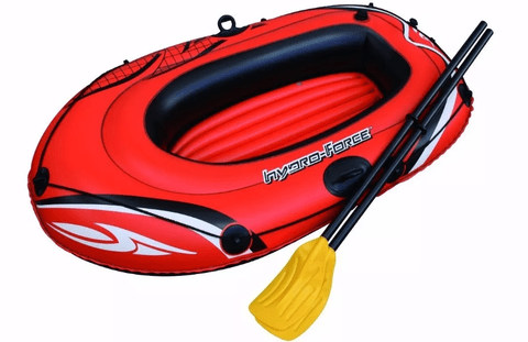 BOTE INFLABLE BESTWAY CON REMOS. ART: 61078