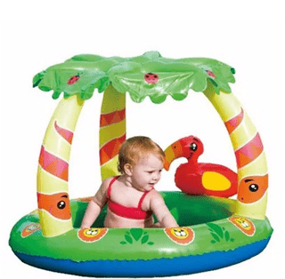 Pileta Inflable Pelotero Bestway Selva Piso Inflable 52179