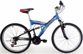 Bicicleta Mountain  Mega Rod 26 Doble Suspension. SPREAD