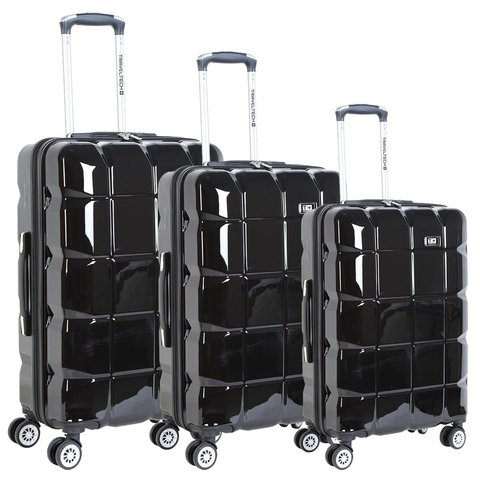 Valija Chica 20 Travel Tech Rigida Irrompible 4 Ruedas 360 25619