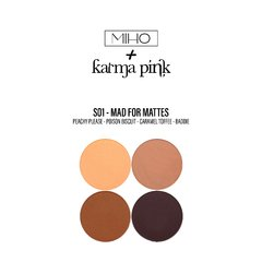 MAD for MATTES - Paleta small + Cuarteto sombras Karma Pink - comprar online