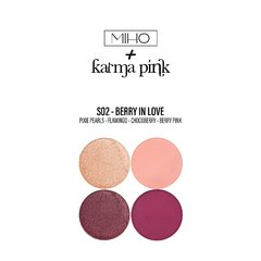 BERRY IN LOVE - Paleta small + Cuarteto sombras Karma Pink - comprar online