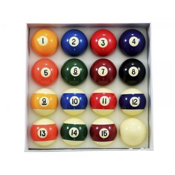 Jogo de bolas numeradas - 50 mm - Rei dos Tacos 1b7390db22c6e