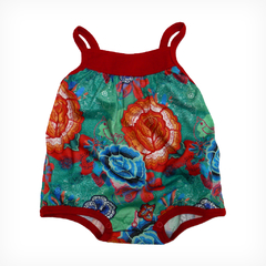 Body Felicitas rojo estampado