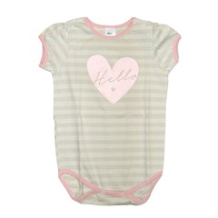 Body mini bullo m/c rayas gris est Love