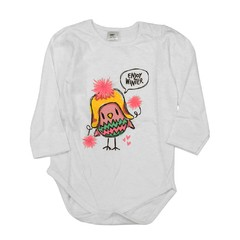 Body mini bullo m/l blanco est Pio Pio