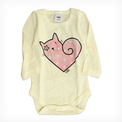 Body miny bullo crudo m/l est Rocker Cat