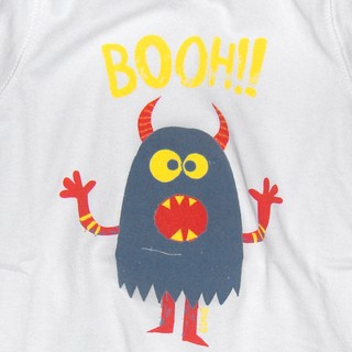 Body Oli m/c blanco est Monster Booh - comprar online