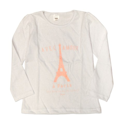 Remera Bolena m/l blanco est Paris