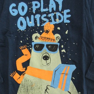 Remera Clásica m/l azul est Go play outside - comprar online