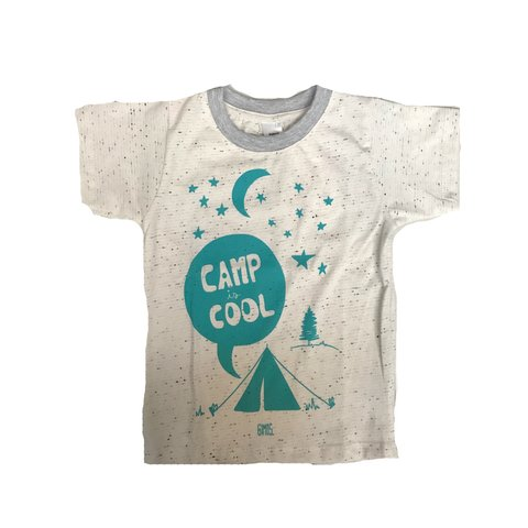 Remera Clasica melange Est. Camp Cool