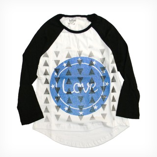 Remera Fara m/l Blanco Est Love and Rock