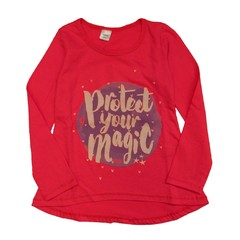 Remera m/l miley fucsia est Magic