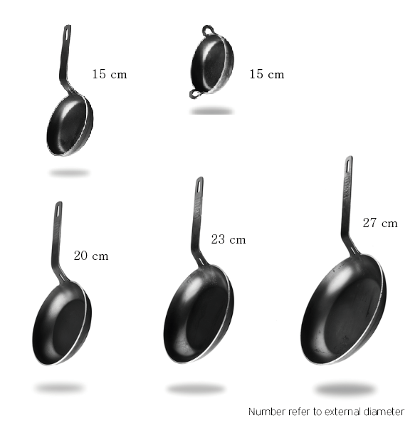 FIVE IRON PAN SET 27 / 23 / 20 / 15 / 15P  ( FREE SHIPPING WORLD WIDE )