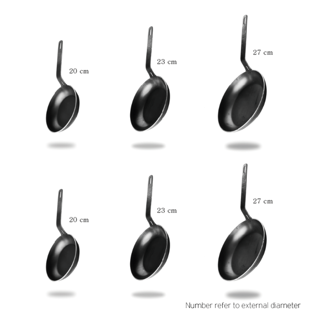 SIX IRON PAN (Free shipping world wide)