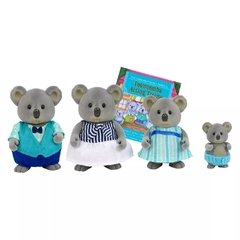 Li'l Woodzeez The Canberra Koala Family with storybook. Familia de koalas. - comprar online