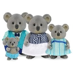 Li'l Woodzeez The Canberra Koala Family with storybook. Familia de koalas.
