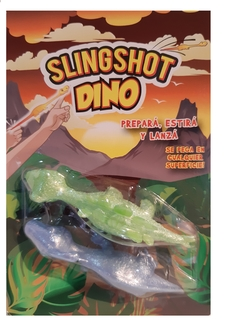 Dino Slingshot blister x 2 - Kids Point