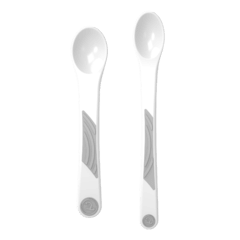 Twistshake 2x Feeding Spoon Set 4+m. Set cucharas. - Kids Point