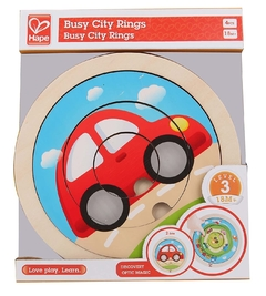 Puzzle de Transporte giratorio Hape - Kids Point