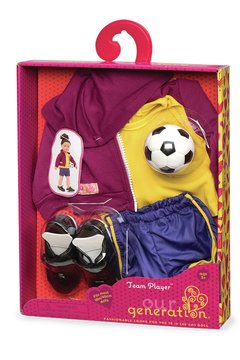 Our Generation Team player regular outfit. Accesorios fútbol. en internet
