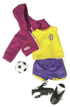 Our Generation Team player regular outfit. Accesorios fútbol.