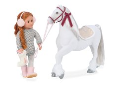 Our Generation Clydesdale . Caballo blanco. - comprar online