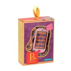 B. Hi!! Phone (Metallic Rose Gold). Telefono celular rosa. - Kids Point