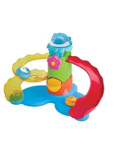 B Kids Splash'n Slide Waterpark Wonder Bath Toy. Tobogán para el baño