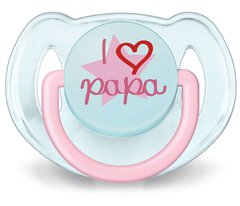 Chupete Classic I Love Papa Avent 6-18m - comprar online