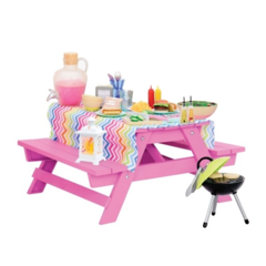 Our Generation Picnic table. Juego de picnic. - comprar online