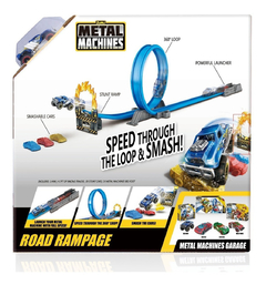 Pista de Auto Metal Machine Road Rampage - Kids Point