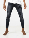 PANTALON HIGH SKINNY RE-BLACK