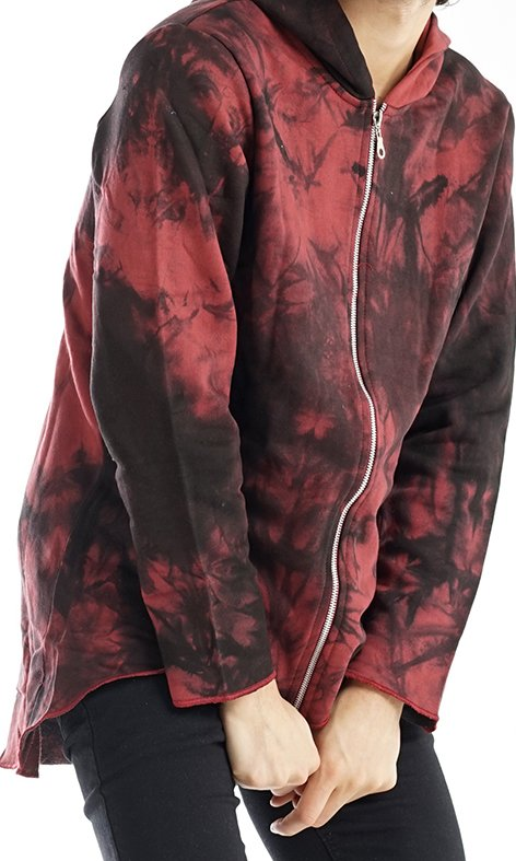 CAMPERA RUSTiCA IRREGULAR  BATIK BORDO en internet